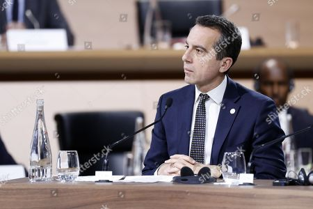 Austrian Prime Minister Christian Kern attends the Plenary Session of the One Planet Summit at the Seine Musicale event site on the Ile Seguin near Paris, France, 12 December 2017. The One Planet Summit starts on 12 December 2017, two years to the day after the historic Paris Agreement was concluded.