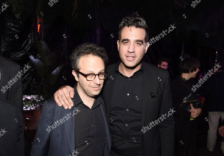 Jake Kasdan, Writer/Director, and Bobby Cannavale at Columbia Pictures Los Angeles premiere after party of JUMANJI: WELCOME TO THE JUNGLE