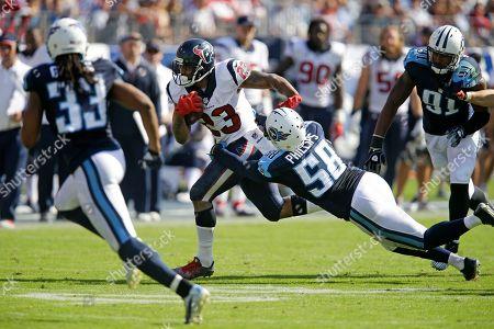 Editorial image of Texans Titans Football, Nashville, USA - 26 Oct 2014