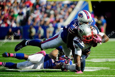 Editorial photo of Patriots Bills Football, Orchard Park, USA - 12 Oct 2014