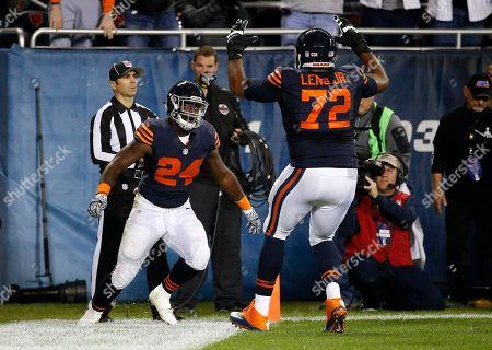 Editorial image of Vikings Bears Football, Chicago, USA - 31 Oct 2016
