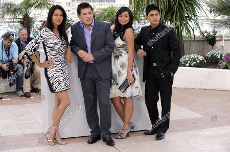 director Brilliant Mendoza,Maria Isabel Lopez, Mercedes Cabral, Coco Martin
