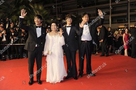Joon Ho Bong , Jin Goo, Bin Won, Hye Ja Kim