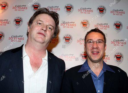 Paul Merton and Mark Lamarr