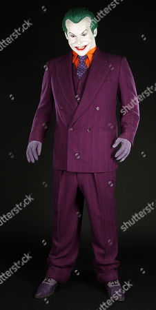 The Joker's (Jack Nicholson) costume from Tim Burton's superhero film 'Batman'