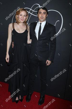 Stock Image of Louisa Krause and Ariya Ghahramani