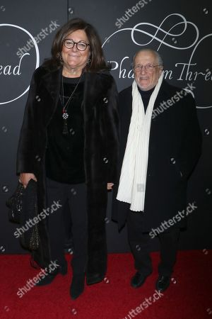 Stock Photo of Fern Mallis and Stan Herman