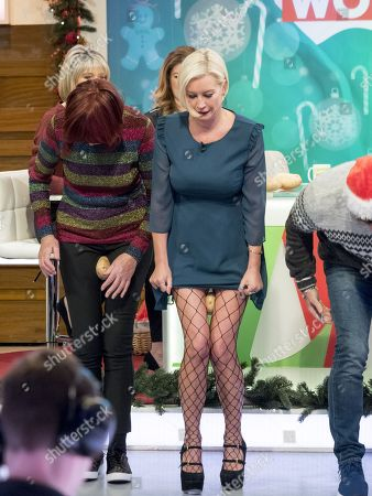 Denise Van Outen, Keith Duffy and Brian McFadden