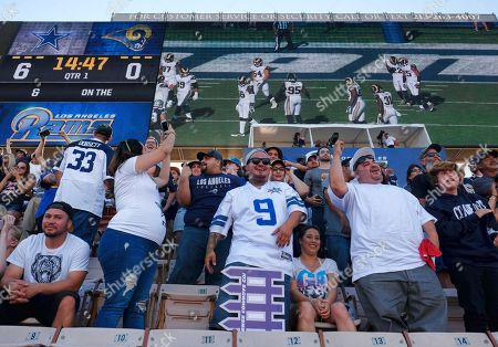 Editorial picture of Cowboys Rams Football, Los Angeles, USA - 13 Aug 2016
