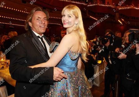 Otto Kern, wife, Naomi, 30th German Opera Ball, Alte Oper, Frankfurt