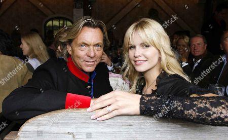 Otto Kern, Girlfriend Naomi Valeska, 175th Oktoberfest Munich, Theresienwiese