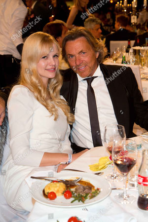Otto Kern, wife, Naomi, UNESCO Charity Gala 2012, Maritim Hotel, Duesseldorf
