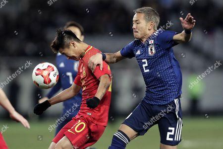 Wei Shihao and Yosuke Ideguchi