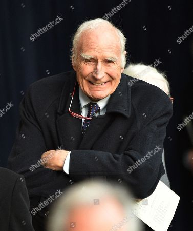 Peter Snow  28/11/16 . DUKe Of Westminster Memorial Service At Chester Cathedral Cheshire.