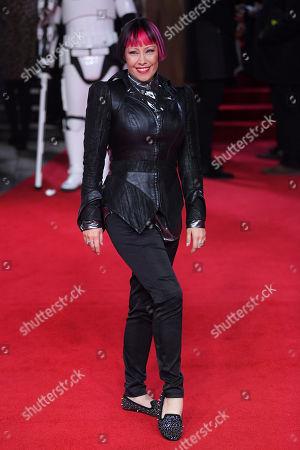 Editorial photo of 'Star Wars: The Last Jedi' film premiere, Arrivals, London, UK - 12 Dec 2017