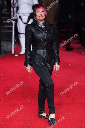 Editorial image of 'Star Wars: The Last Jedi' film premiere, Arrivals, London, UK - 12 Dec 2017