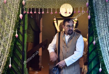 Bollywood actor Kabir Bedi during a condolence meeting of late actor Shashi Kapoor