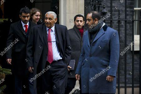 Editorial picture of Ambassador to Kuwait Khaled Al-Duwaisan at Downing Street, London, UK - 12 Dec 2017