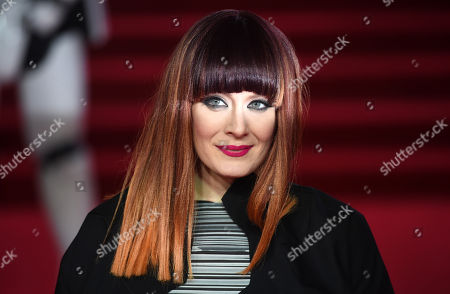 U.S. singer Ana Matronic arrives at the UK Premiere of Star Wars:The Last Jedi at the Royal Albert Hall in London, Britain,12 December 2017.