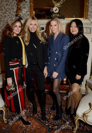 Editorial picture of Iris Alexander high jewellery launch at the Ritz, London, UK - 12 Dec 2017