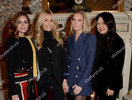 Stock Photo of Olivia Palermo, Melissa Odabash, Alice Naylor-Leyland and Susan Shin