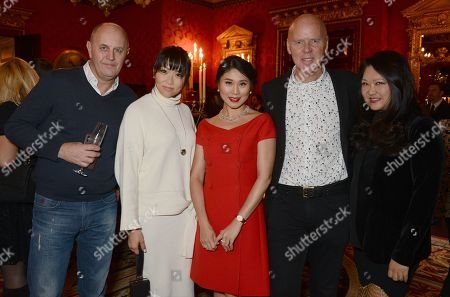 Editorial photo of Iris Alexander high jewellery launch at the Ritz, London, UK - 12 Dec 2017