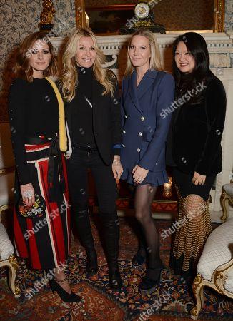 Olivia Palermo, Melissa Odabash, Alice Naylor-Leyland and Susan Shin