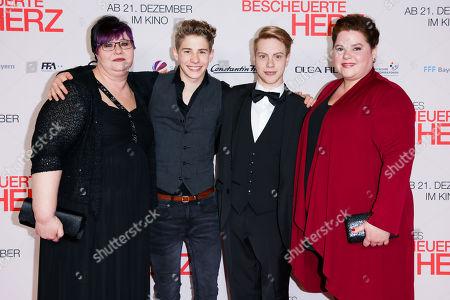Debbie Wyrich, Philip Noah Schwarz, Daniel Meyer and Nadine Wrietz