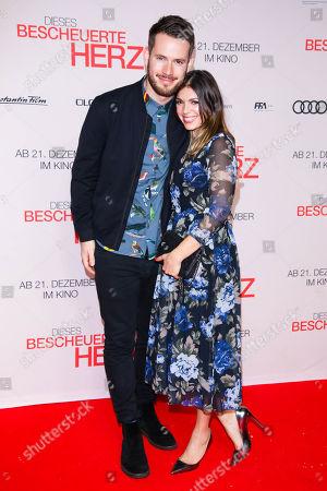 Johannes Strate mit Partner Anna Wolfers