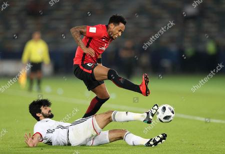Rafael da Silva (Reds), Mohammed Ayed (Al-Jazira)