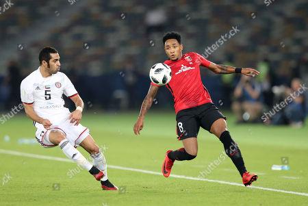 Rafael da Silva (Reds), Musallem Fayez (Al-Jazira)