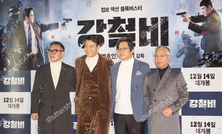 Editorial picture of 'Steel Rain' film photocall, Seoul, South Korea - 11 Dec 2017