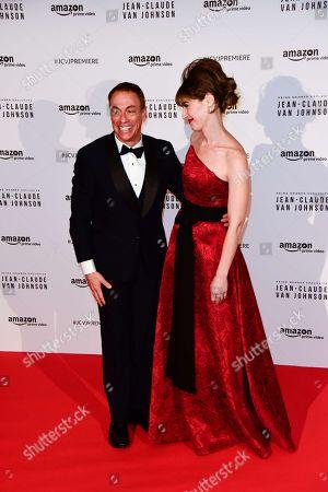Jean-Claude Van Damme and Kat Foster