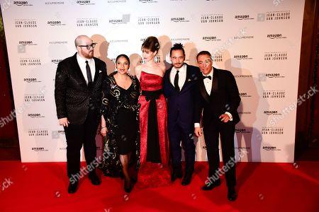 Peter Atencio, Phylicia Rashad, Kat Foster, Dave Callaham, Jean-Claude Van Damme