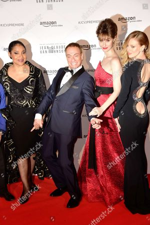 Phylicia Rashad, Jean-Claude Van Damme, Kat Foster and Bar Paly