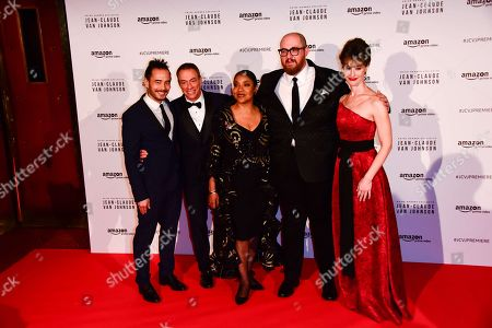 Dave Callaham, Jean-Claude Van Damme, Phylicia Rashad, Peter Atencio, Kat Foster
