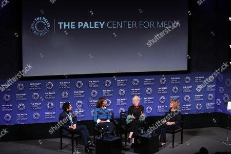 Stock Image of Zac Posen, Nina Garcia, Joanna Coles, Judy Licht