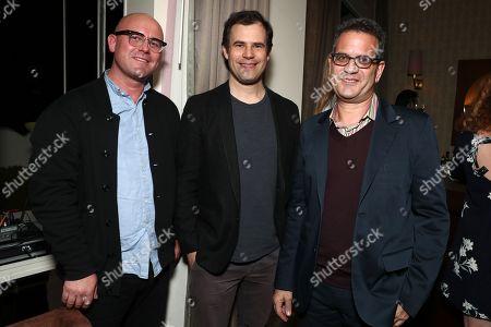 James Laxton, Alex Orlovsky and Mark Friedberg