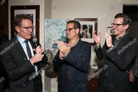 Bryan Cranston, Mark Friedberg and Brian Selznick