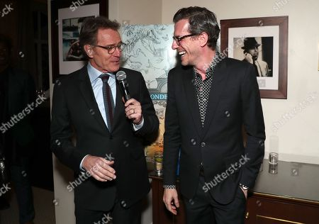 Bryan Cranston and Brian Selznick