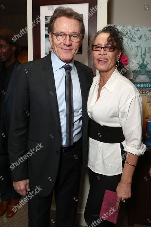 Bryan Cranston and Rena Owen