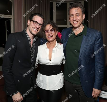 Brian Selznick, Rena Owen and John Sloss
