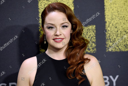 """Shelley Regner arrives at the Los Angeles premiere of """"Pitch Perfect 3"""" at the Dolby Theatre on"""