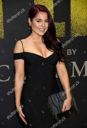 """Erin Robinson arrives at the Los Angeles premiere of """"Pitch Perfect 3"""" at the Dolby Theatre on"""