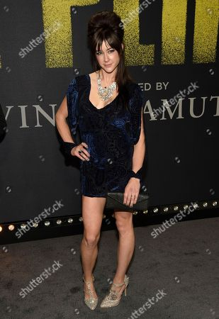 """Stock Picture of Hannah Fairlight arrives at the Los Angeles premiere of """"Pitch Perfect 3"""" at the Dolby Theatre on"""