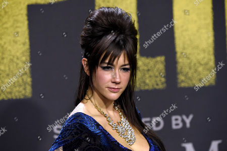 """Stock Photo of Hannah Fairlight arrives at the Los Angeles premiere of """"Pitch Perfect 3"""" at the Dolby Theatre on"""