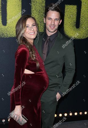 Matt Lanter and wife Angela Lanter