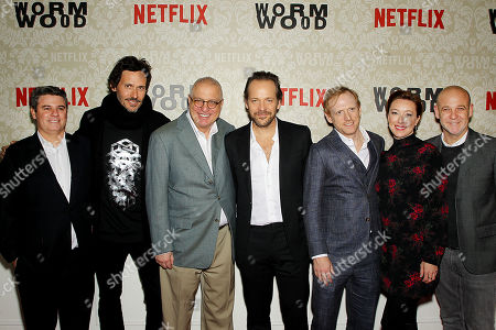 """Editorial image of New York Launch Party for the Netflix Original Story """"WORMWOOD"""" at The Campbell, USA - 12 Dec 2017"""