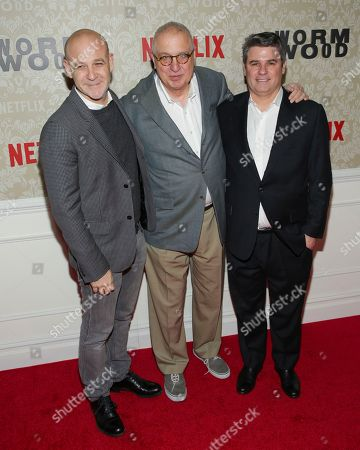 """Editorial photo of NY Premiere Party for Netflix's """"Wormwood"""", New York, USA - 12 Dec 2017"""