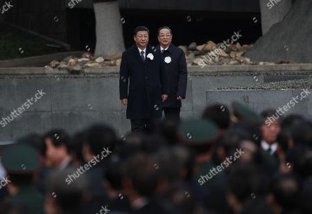 Xi Jinping and Yu Zhengsheng